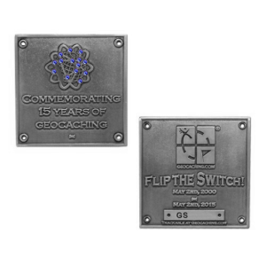 Flip the Switch Geocoin