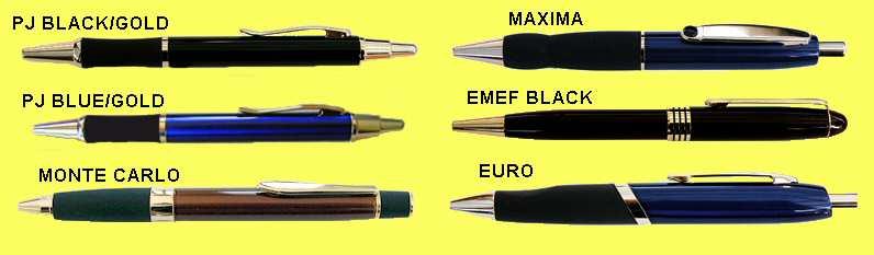 Laserable Pens