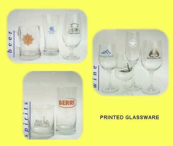 Printed Glassware